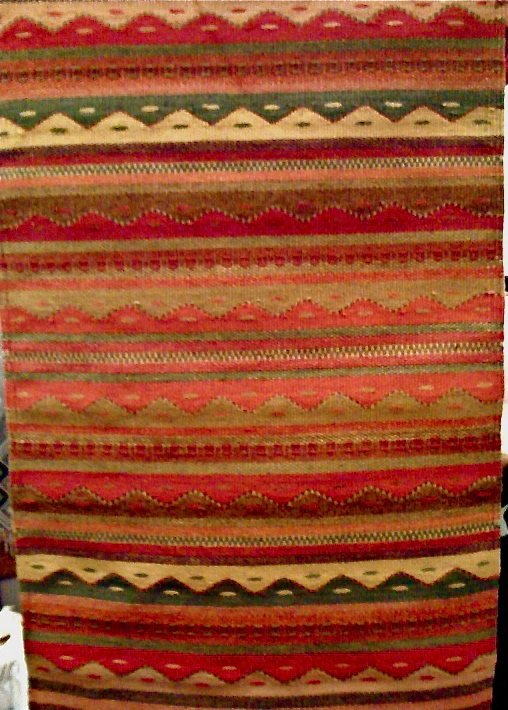 Mountains and Rains Zapotec Rug Pattern