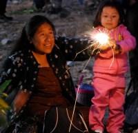 Sparklers at Las Cuevitas