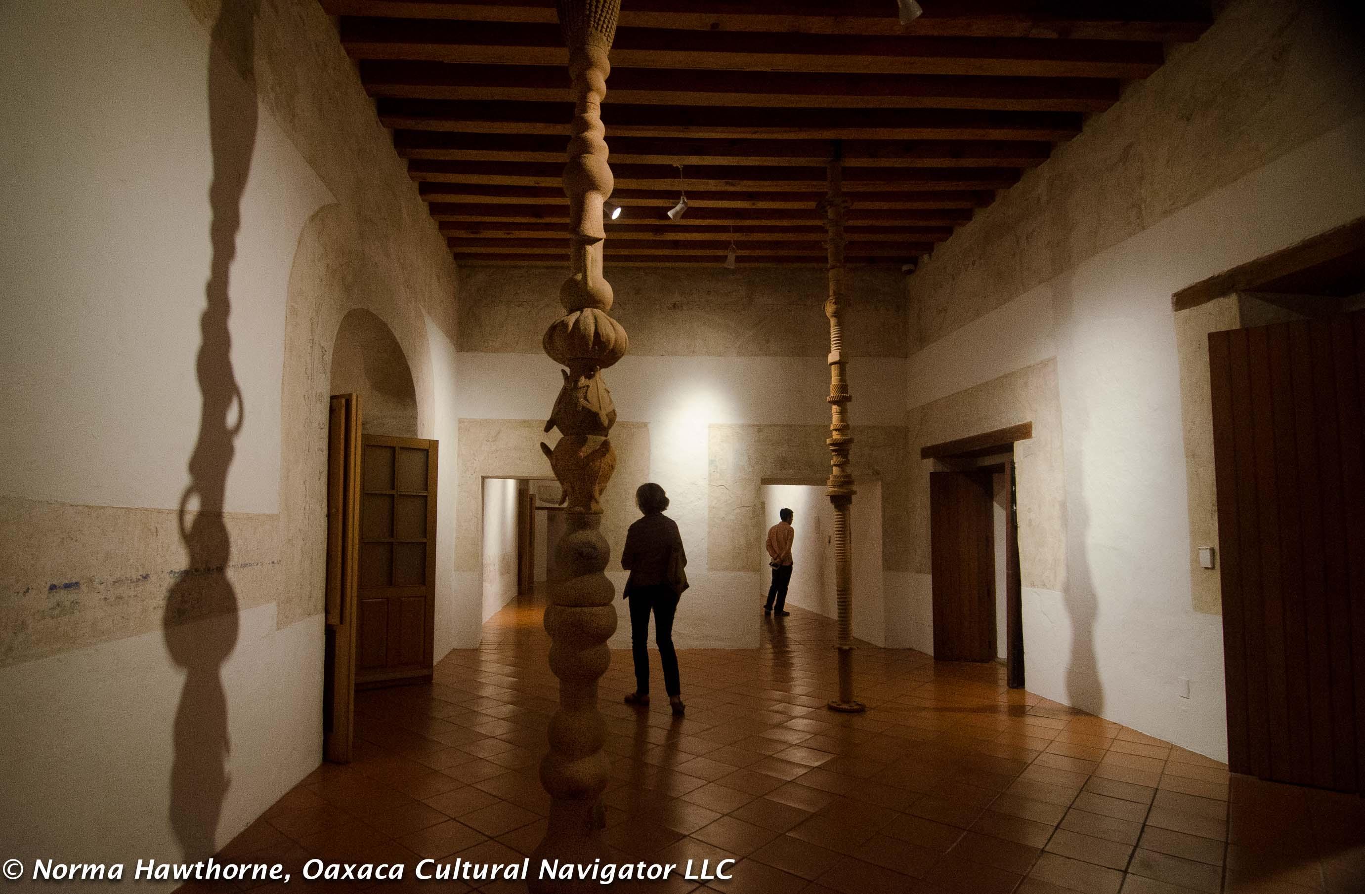 Oaxaca S Contemporary Art Museum Maco Shows Ceramic