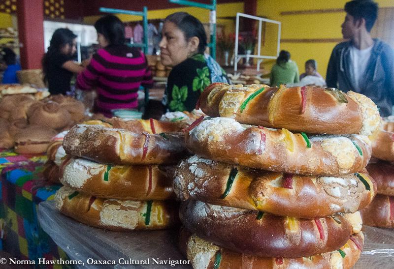 three kings day and rosca de reyes oaxaca mexico
