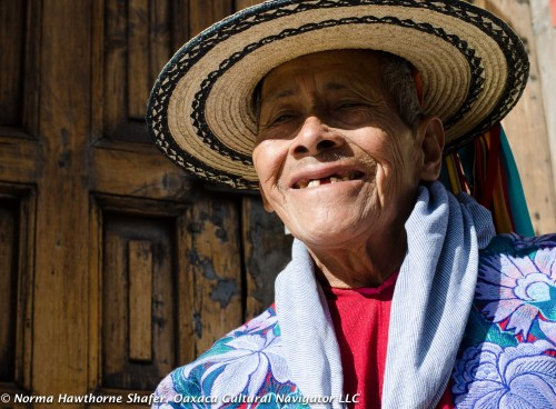 Man from Zinacantan with hand-woven straw hat