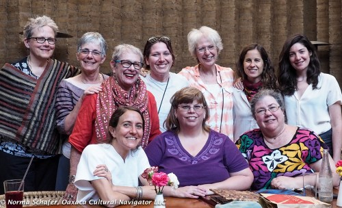 2016 Writing Group Dinner at Los Danzantes Restaurant