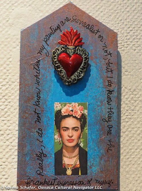 Frida Kahlo Retablo by Hollie Taylor Novak