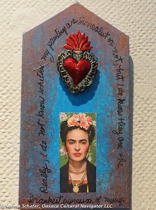 Frida Kahlo Retablo by Hollie Taylor Novak