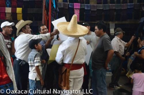 Tlacolula market scene. 2015. Color.