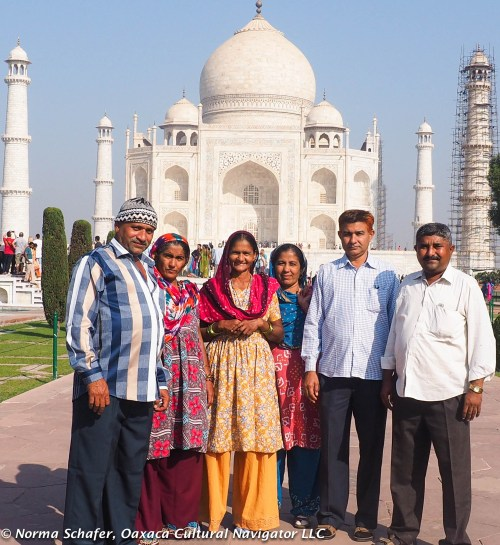 Family from Gujarat, our next destination.