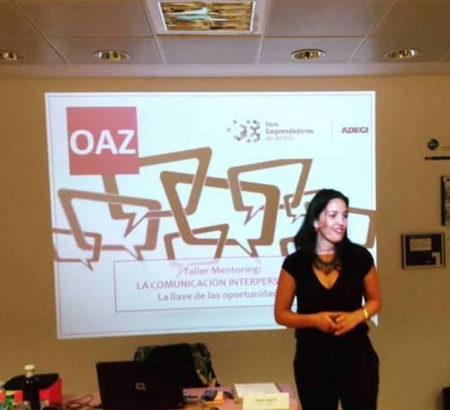 taller mentoring comunicacion interpersonal, OAZ Coaching para el cambio
