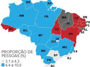 Alagoas é líder em analfabetismo no Brasil, segundo dados da Pnad
