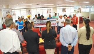 A atividade começou pela agência Centro do HSBC em Londrina