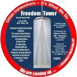 """""""Carthart Jacket Patch_Freedom Tower"""""""