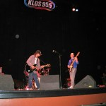 """KLOS gig at the Warner Grand Theatre"""