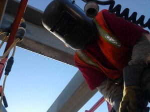 Shane OB'rien is Safety Steward on Jobsite LAUSD No 15