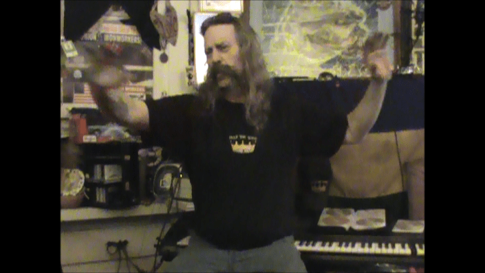 """Music Artist Shane O'Brien in The Jungle Studio on TWFPS"""