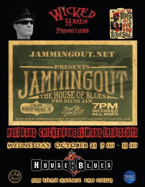 Jam Night at House of Blues San Diego, CA