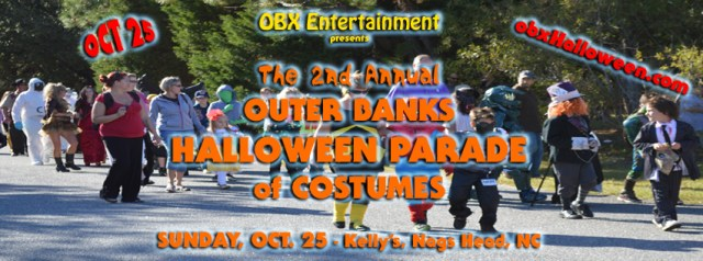 2nd Annual Outer Banks Halloween Parade of Costumes - Oct. 25, 2015