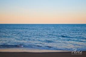 Kill Devil Hills beach at sunset, 3-11-17, photo by Matt Artz_0001