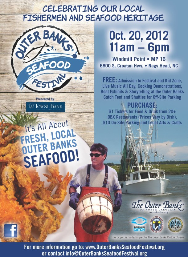 Outer Banks Seafood Festival - poster