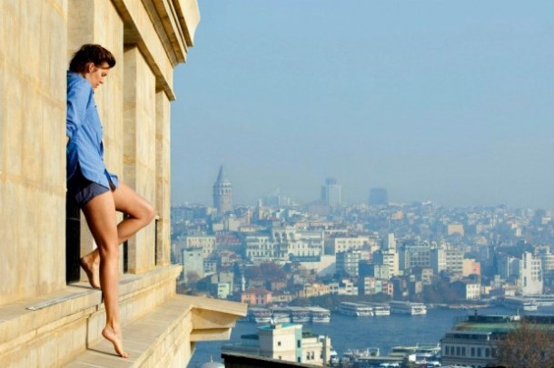 Maggie Grace is on the edge in 'Taken 2'.