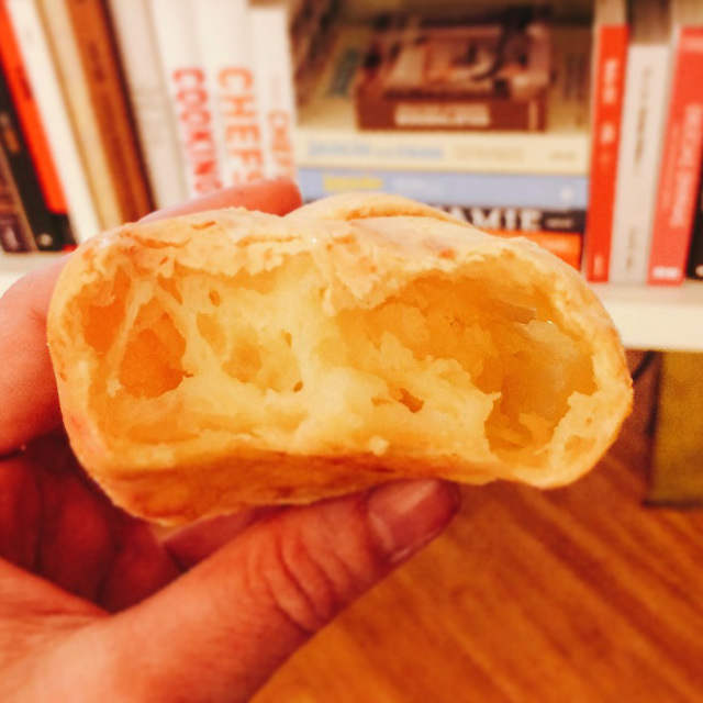 Pão de queijo de Rogério Shimura