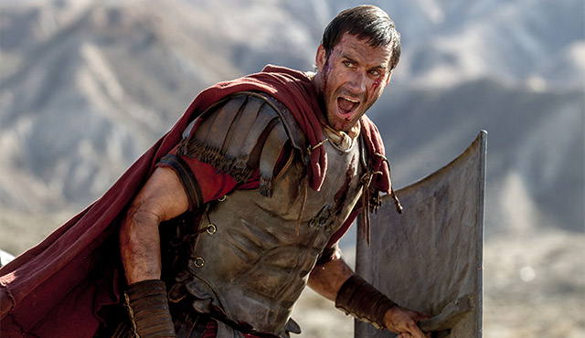 "JOSEPH FIENNES STARS IN A SCENE FROM THE MOVIE ""RISEN."" FIENNES SAID HIS NEW PROJECT SEEKS TO ILLUSTRATE THE STORY OF CHRIST'S DEATH AND RESURRECTION FROM A UNIQUE PERSPECTIVE. / PHOTO: (CNS PHOTO/COLUMBIA)"