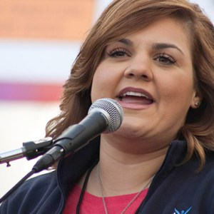 ABBY JOHNSON, A FORMER PLANNED PARENTHOOD EMPLOYEE OF THE YEAR WHO HAS BECOME AN OUTSPOKEN PRO-LIFE ADVOCATE, IS PICTURED IN A 2011 PHOTO. JOHNSON TOLD GEORGETOWN UNIVERSITY STUDENTS APRIL 20 THAT EVEN THE MOST STRIDENT ABORTION PROVIDER CAN HAVE A CHANGE OF HEART. / PHOTO: CNS PHOTO