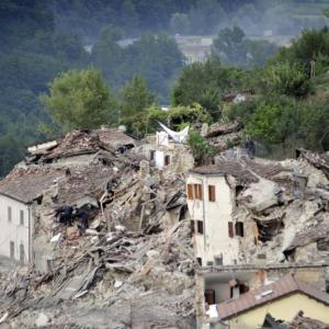Amatrice, Italy suffered a 6.2 earthquake on Aug. 24. / PHOTO: CNS