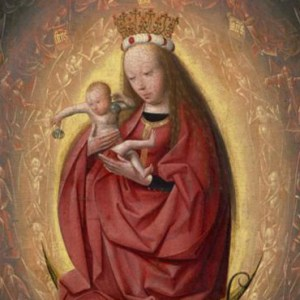 """""""THE GLORIFICATION OF THE VIRGIN"""" BY GEERTGEN TOT SINT JANS IS PART OF AN EXHIBITION NOW ON DISPLAY AT THE WALTERS ART MUSEUM IN BALTIMORE. / PHOTO (CNS PHOTO/COURTESY MUSEUM BOIJMANS VAN BEUNINGEN, ROTTERDAM/STUDIO TROMP, ROTTERDAM)"""