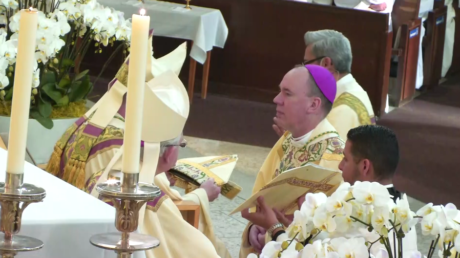 Watch The Ordination Of Auxiliary Bishop Freyer Oc Catholic