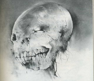 Stephen Gammell drawing from Scary Stories to Tell in the Dark