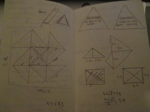 anatman sketch occult triangle lab