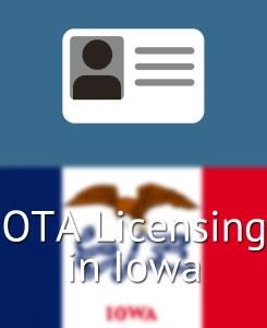 OTA Licensing in Iowa