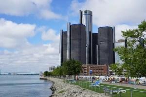 Detroit Renaissance Center - Top Cities for COTA professionals and Avg OTA Salaries