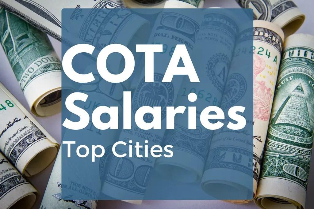 COTA Salaries in the Top 10 Most Popular Cities