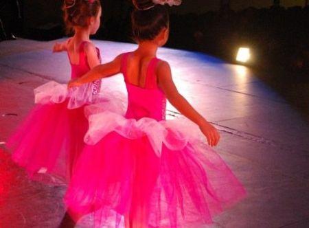 back of dancers
