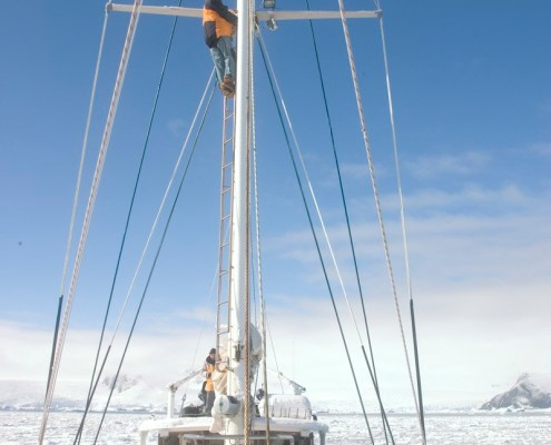Australis in Antarctic pack ice