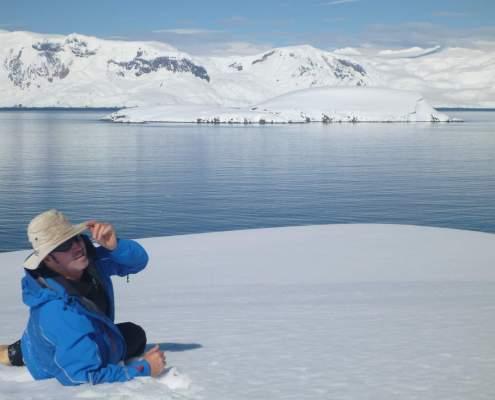 Relaxing in Antarctica