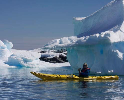 Kayaking Antarctica