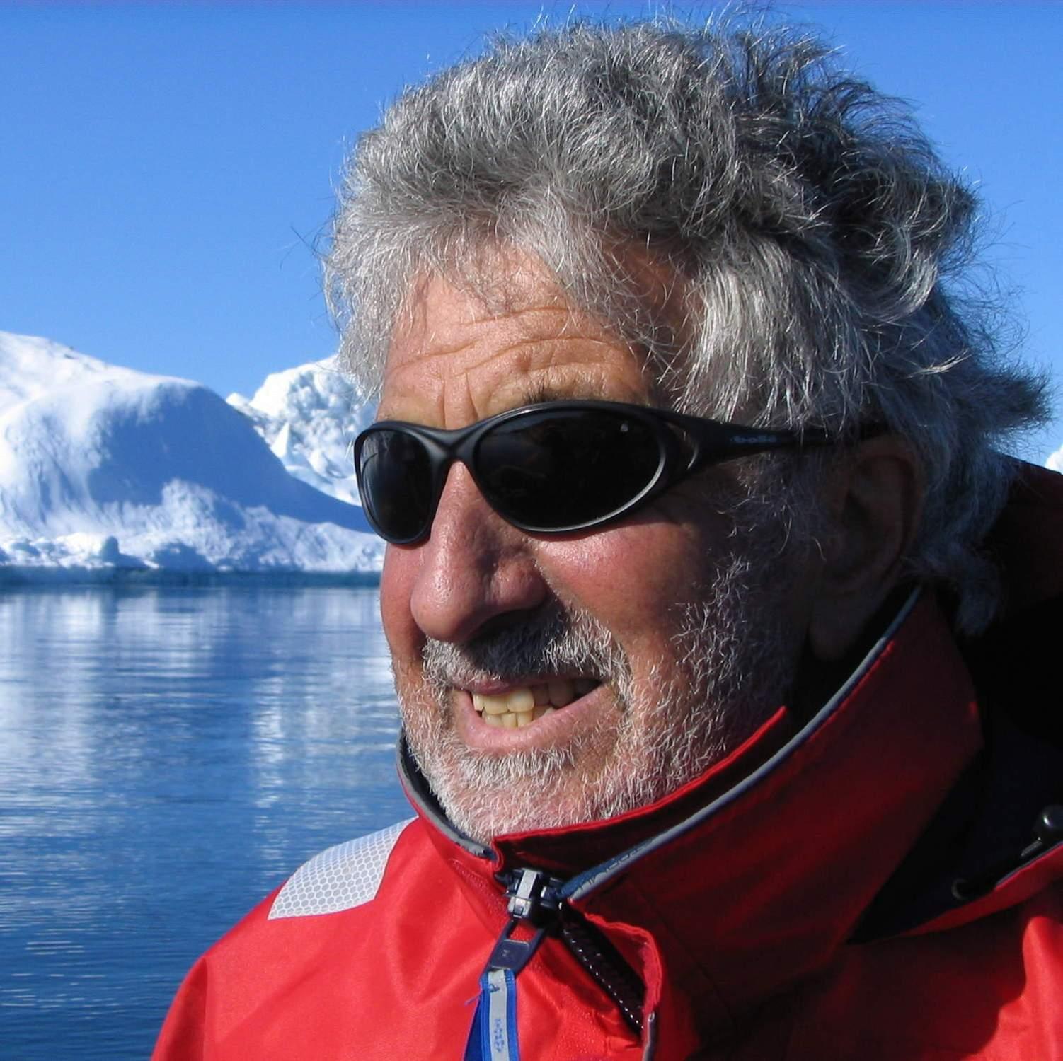 Roger Wallis, Antarctica, yacht