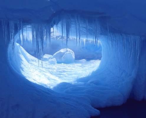 Antarctica Ice yacht Australis