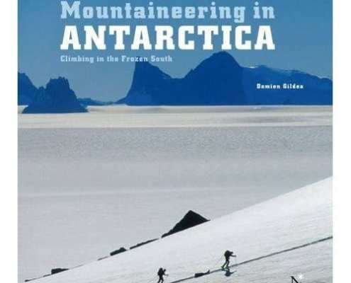 Damien Gildea mountineering Antarctica featuring Australis