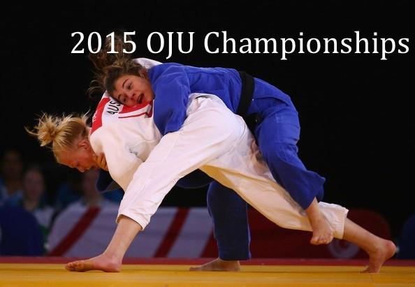 2015 OJU Championships Information
