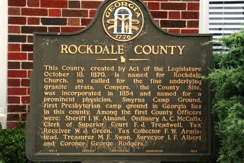 Public Invited To Installation Ceremony For Rockdale Officials