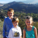 Family Hiking at Laurel Canyon Trail in Laguna Beach