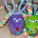 Easter Bunny Egg Necklaces