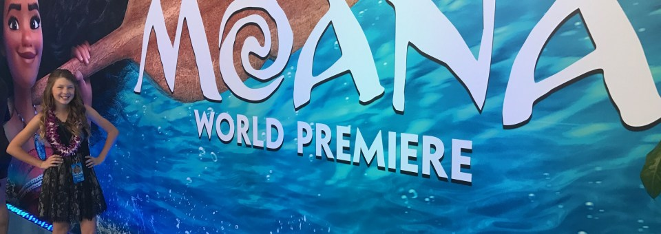 Magical Moana Premiere