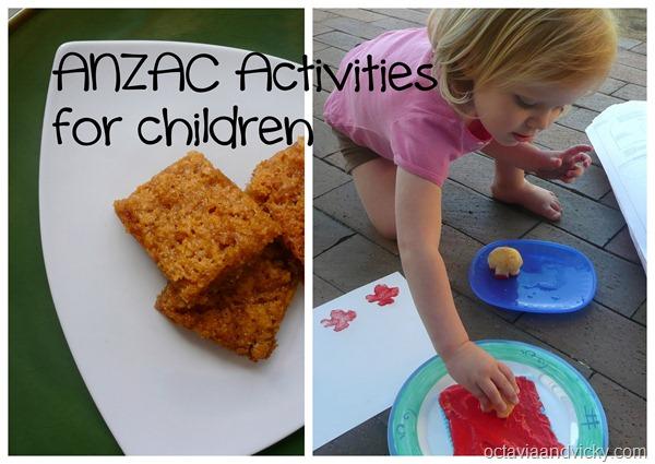 ANZAC Activities for children