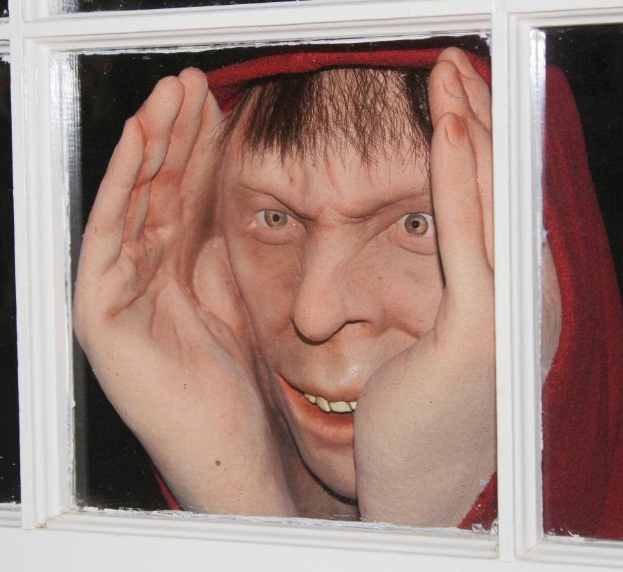 peeping tom shower