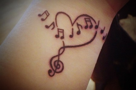 music tattoos 1