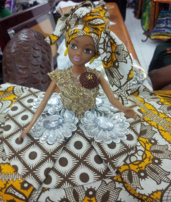 boneca queens of áfrica