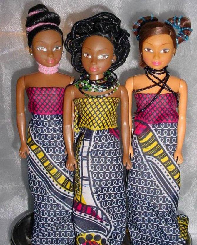 bonecas queens of áfrica